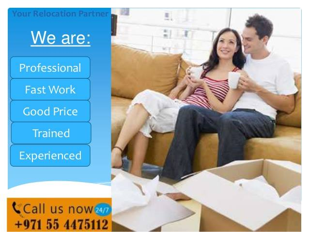 What kinds of removal services can be find on AMWAJ House Movers in Dubai?